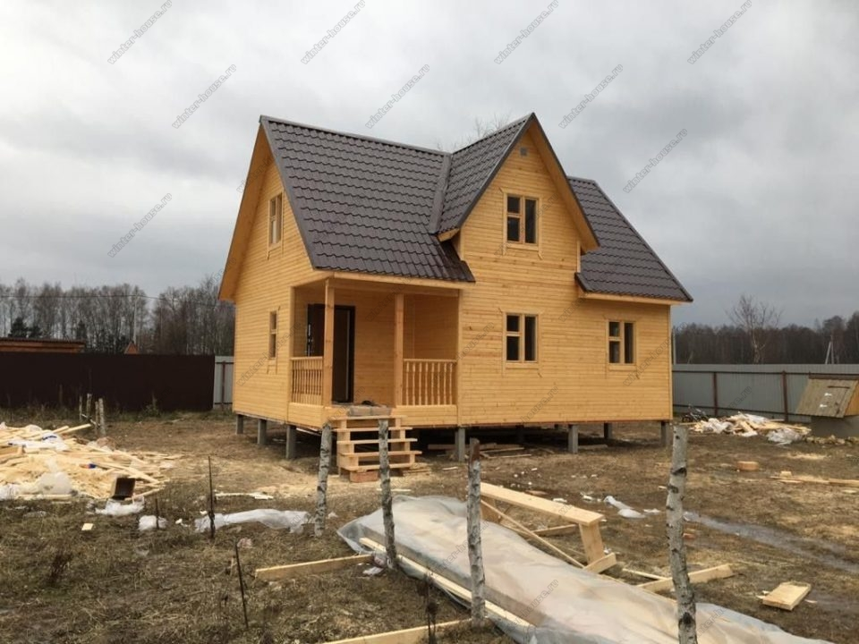 Фото каркасного дома с кукушкой проект и цена