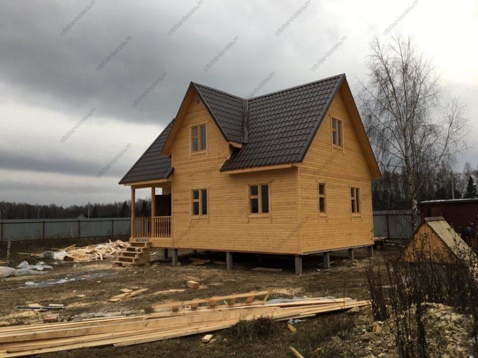 Строительство каркасных домов под ключ для постоянного проживания в Москве фото и цены