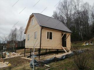 Сколько стоит каркасный дом под ключ 6 х 6 м