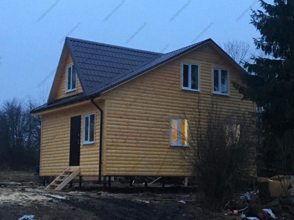 Строительство каркасно-щитового коттеджа Владимирская область