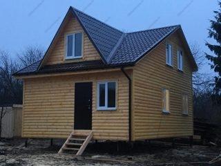 Каркасный дом 6 на 8 под ключ проект и цена