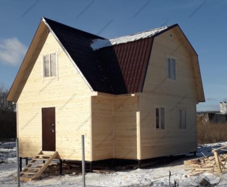 Красивый и уютный каркасный домик с отделкой под ключ фото и цена