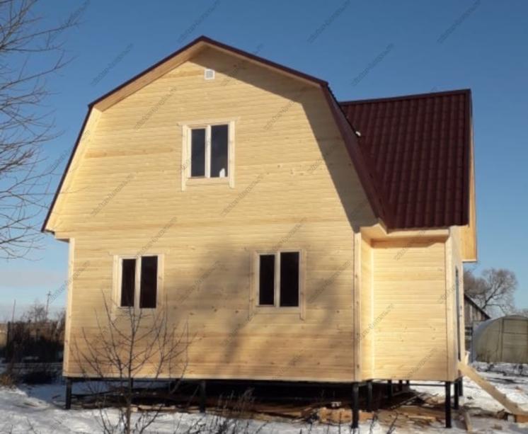 Каркасный коттедж от компании из Пестово Новгородской области