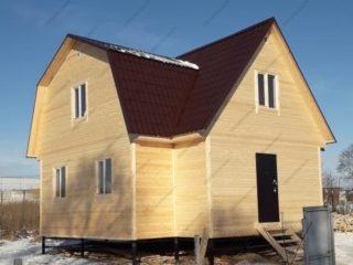Дома каркасные из Пестово под ключ проекты и цены
