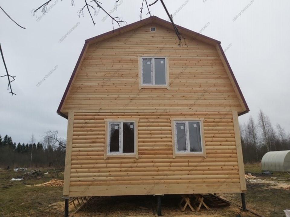 жилые дома из бруса с мансардой интересные проекты