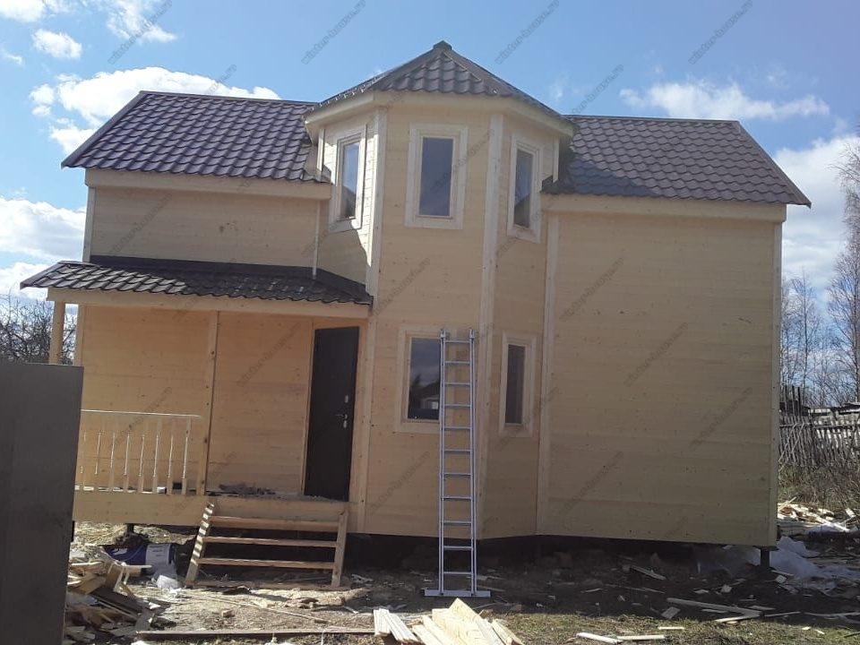 Строительство каркасных домов под ключ Апрелевка - проекты и цены