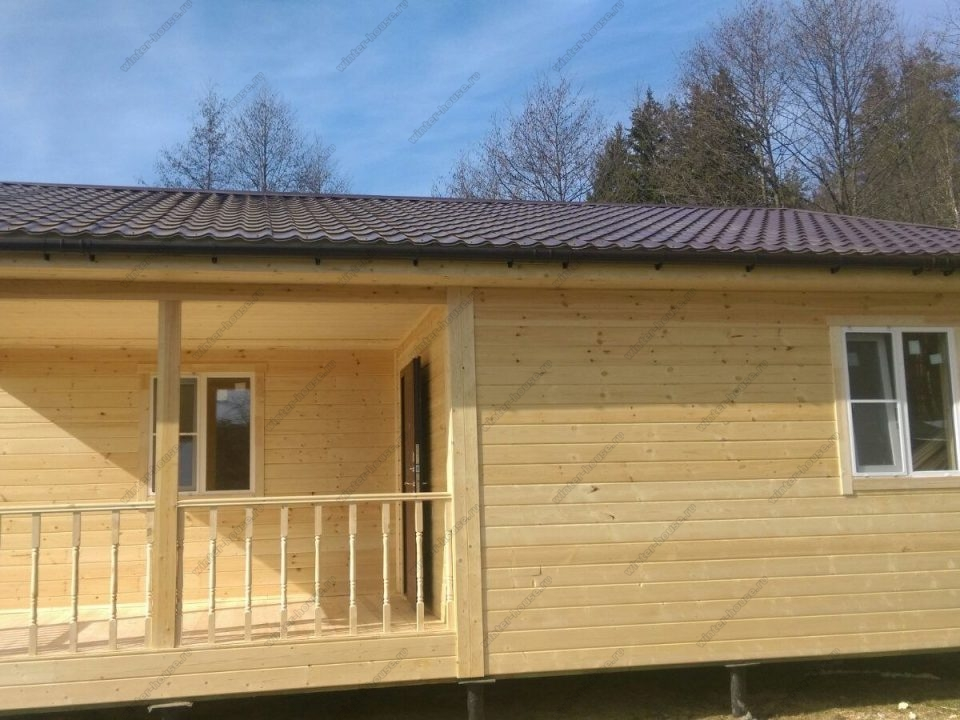 Фото строительства каркасного дома в Жукове
