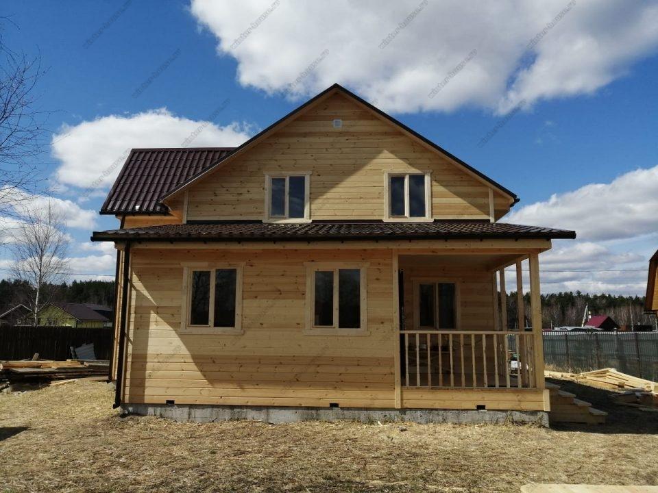 Фото жилого каркасно-щитового дома