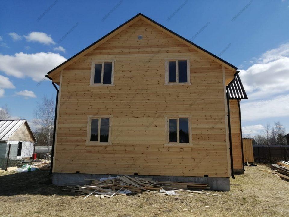 Деревянный дом для постоянного проживания канадская технология