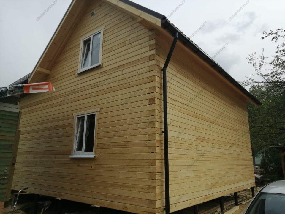 Фото и проект углового дома