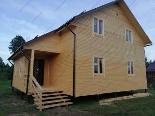 Строительство каркасных домов под ключ Гатчина - проекты и цены