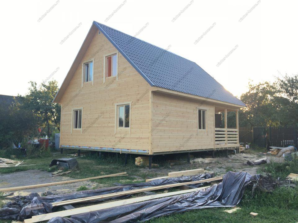 Строительство недорогих домов в г. Луховицы - проекты и цены