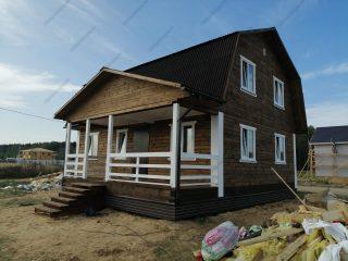 Строительство домов из бруса в поселке Новинское - проекты и цены