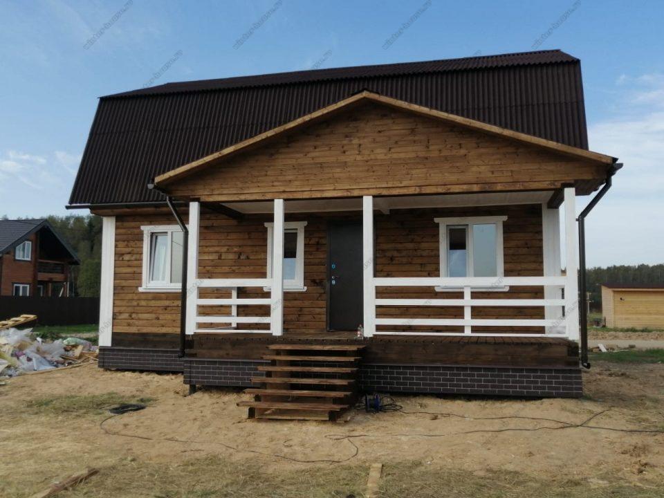 Дом для постоянного проживания зимой в Московской области цена и планировка