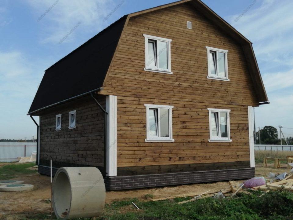 Фото загородного дома со вторым этажом