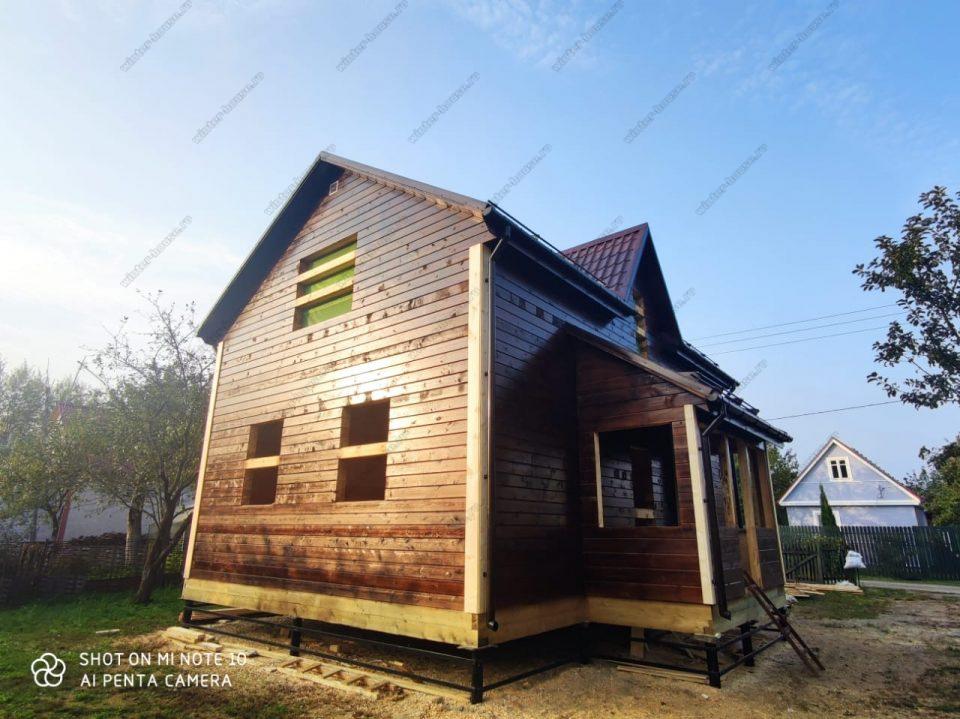 Деревянные дома под ключ в Ногинске - проекты и цены