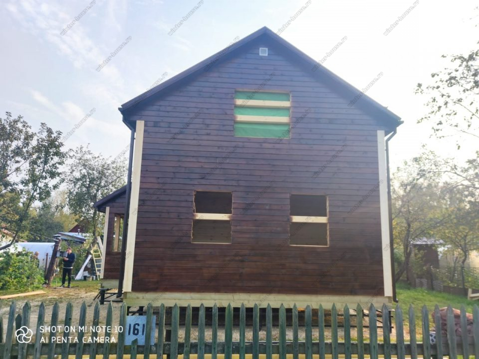 Фото частного деревянного дома 6 на 9