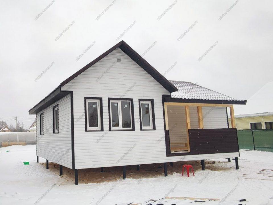 Строительство недорогих домов под ключ СНТ Сапфир